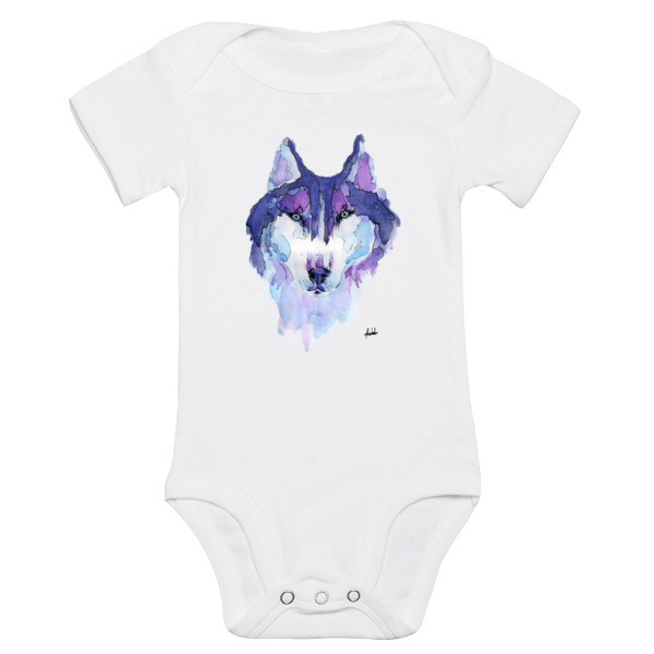 Husky Syberyjski Purple Kids