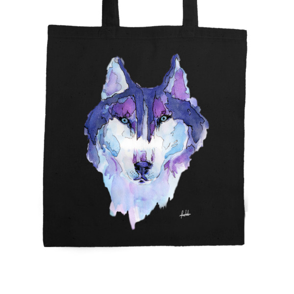Husky Syberyjski Purple Bag