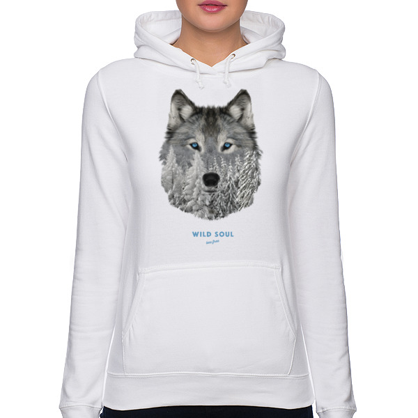 Husky Syberyjski Snow Hooded