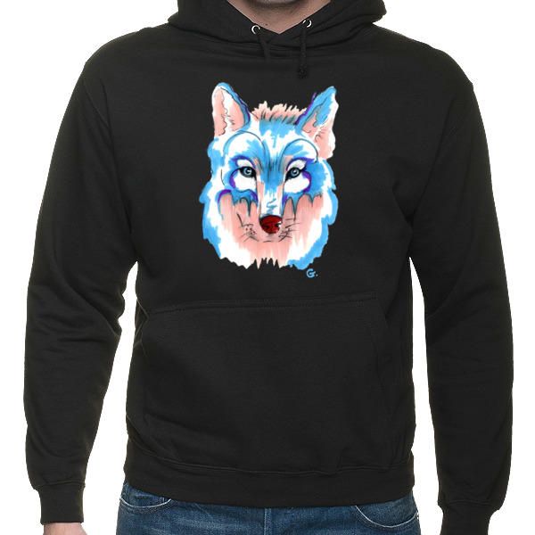 Husky Syberyjski Aquamarin Hooded